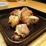 48839133 - 黒さつま鶏 ももあぶり焼き