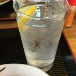 府中 川崎屋 - レモンサワー
