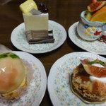 わいず亭 - 親父のセレクトケーキ