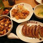 大阪王将 - ちょいカラ定食