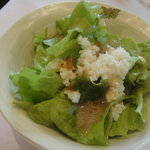 レストラン ラ・ペーシュ - サラダ