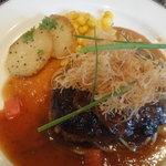 レストラン ラ・ペーシュ - 和風ハンバーグ