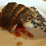ケースタイル - 白身魚のポワレ