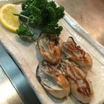 もみじ屋 - 牡蠣焼き
