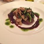 レストラン タガミ - 国産牛フィレ肉のロティ 赤ワインソース