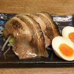 麺屋 黒琥 〜KUROKO〜 - 特選3点盛り(300円)
