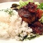 Cafe Chillax - ハンバーグ(カフェ定食)