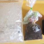 村田商店 - 中身(寒天、みつ豆、黒蜜、求肥)