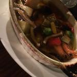 国分寺ワイン酒場 ウシカミGabu - 魚と野菜のアヒージョ