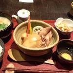 発酵薬膳&カフェ カワセミ - ランチセット 700円