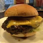 48846064 - ほそやのジャンボハンバーガー・アップ〜♫
