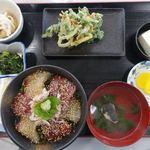 よっちゃーれセンター - 漬丼定食 1000円