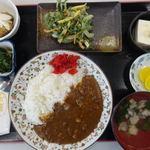 よっちゃーれセンター - お魚カレー定食 1000円