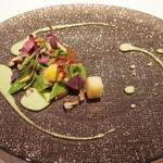 48849141 - ほたてと春のお野菜
