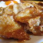 ほいほい - 豚の生姜焼きアップ