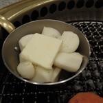 照月苑 - ニンニク焼き