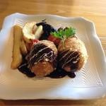 飯屋こふく - 料理写真:カニクリームコロッケ