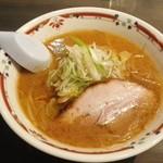 狼スープ - 味噌ラーメン800円