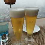 48856211 - 生ビールはアサヒスーパードライ。