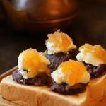 コーヒーショップ カコ - 念願のスペシャルな小倉トースト