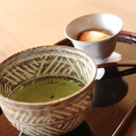望洋樓 - 旅のつかれはお抹茶と吟醸プリンで