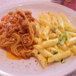 Pasta & Pizza RUMBLE - ハーフ&ハーフ