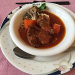 レストラン ママノエル - 羊肉のトマトソース煮
