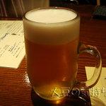 串揚処 ぶらんにゅう亭 - 生ビール(スーパードライ)