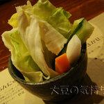 串揚処 ぶらんにゅう亭 - 野菜スティック