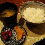 串揚処 ぶらんにゅう亭 - お食事セット