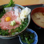 48860243 - ネギトロ丼 850円