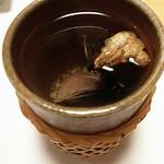 帆掛鮨 - ヒレ酒♪