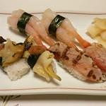 48860999 - つぶ 海老 金目鯛