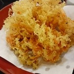 道の駅 富士川楽座 - 料理写真:◎桜えびのかき揚 上手に揚げてます!
