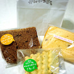 48866916 - シフォンケーキとこんぶ入りクッキー