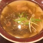 阿城鵝肉 - 下水湯(シァシュイタン)