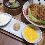 Benitoragyouzabou - better half の             ふかひれ蟹麺セット♡