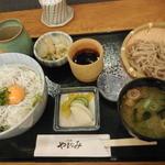 やまなみ - シラス丼セット ¥850-
