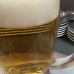 立喰 さくら寿司 - 生ビール