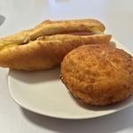 粉とクリーム - 惣菜パソはカレーかウインナーにかぎる。自宅にて