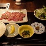 48874782 - 2016.3 牛たん定食100g