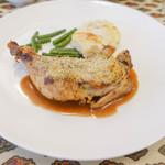 ル・クロ・モンマルトル - 若鶏のコンフィ
