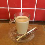 my cafe - 160322 セーキセット(カフェオレ)