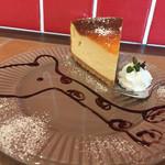 my cafe - 160322 セーキセット(チーズケーキ)