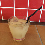 my cafe - 160322 ランチのグレープフルーツジュース