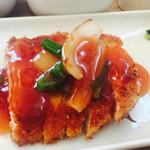 カントリーロード - チキンカツの甘酢ソース