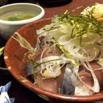 48881008 - 究極のとろさば丼定食(1,000円)