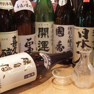 静岡の美味しいお酒を召し上がれ!!