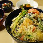 48882272 - 野菜天丼