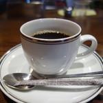 サイトウ洋食店 - 今週のランチ・オムライス(900円):コーヒーまで付いてくる。